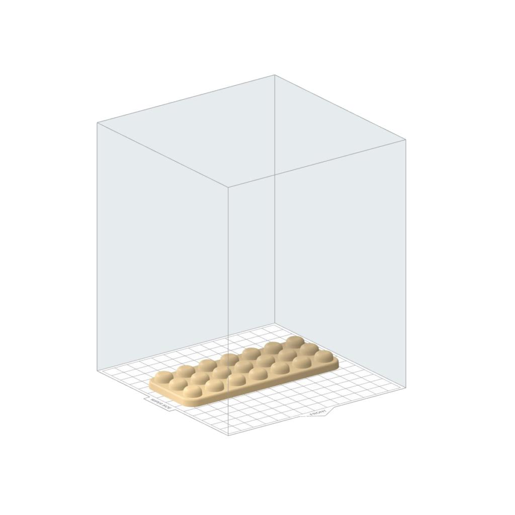 Vorschau Form direkt auf Bauplattform