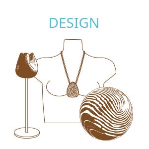 Designerstücke aus dem 3D Drucker online kaufen