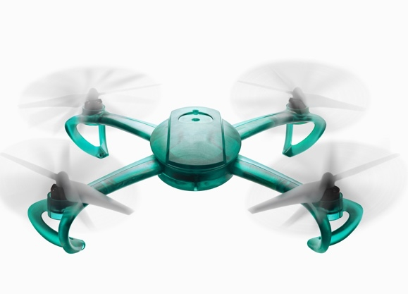 Anwendungsbeispiel Drohne aus Form2 Resin Tough