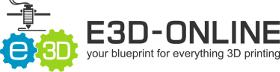 E3D Online Logo Banner